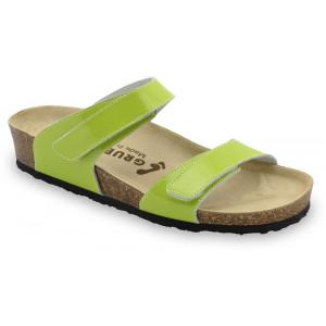 GRUBIN ženske papuče 2343670 HIGIJA Zelene