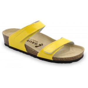 GRUBIN ženske papuče 2343670 HIGIJA Žute