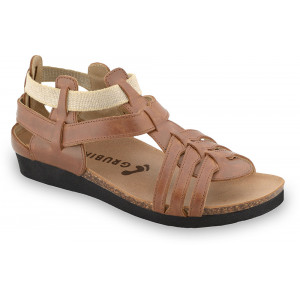 GRUBIN ženske sandale 2433610 ANASTASIJA Braon