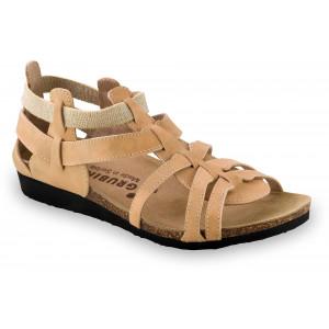 GRUBIN ženske sandale 2433610 ANASTASIJA Svetlo Braon