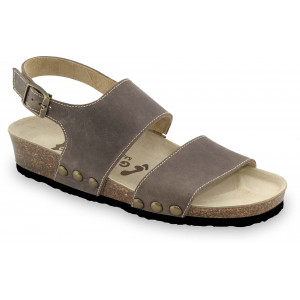 GRUBIN ženske sandale 2623610 CHARLOTTE Braon