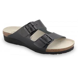 GRUBIN ženske papuče 2633650 TULSA Crna