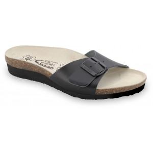 GRUBIN ženske papuče 2643650 TOPEKA Crna
