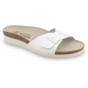 GRUBIN ženske papuče 2643650 TOPEKA Bela