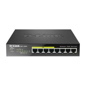 D-LINK switch 8-portni gigabitni DGS-1008P POE