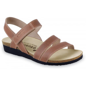 GRUBIN ženske sandale 2693610 MANUELA Svetlo Braon