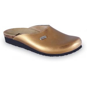 GRUBIN ženske papuče 2713610 PENELOPE Zlatna