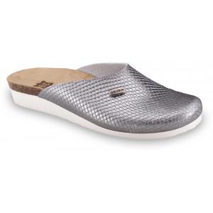 GRUBIN ženske papuče 2713610 PENELOPE Srebrna ZM