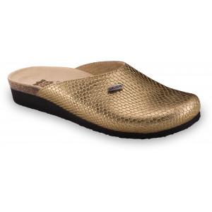 GRUBIN ženske papuče 2713610 PENELOPE Zlatna ZM