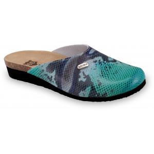 GRUBIN ženske papuče 2713610 PENELOPE Zmija 6