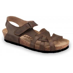 GRUBIN ženske sandale 2733680 BELEM Braon