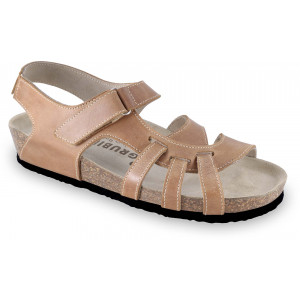 GRUBIN ženske sandale 2733680 BELEM Svetlo Braon