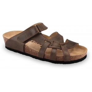 GRUBIN ženske papuče 2743680 NAFAR Braon