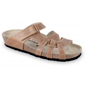 GRUBIN ženske papuče 2743680 NAFAR Svetlo Braon