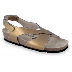 GRUBIN ženske sandale 2753680 ASTANA Zlatna
