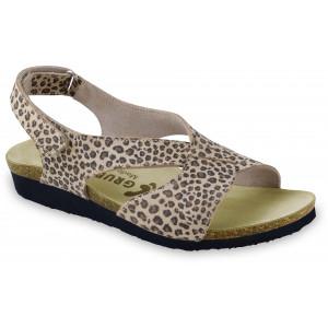 GRUBIN ženske sandale 2763610 MANUELA Leopard