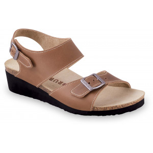 GRUBIN ženske sandale 2773610 RIYADH Braon