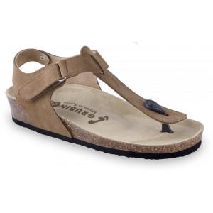 GRUBIN ženske sandale 2783680 DHAKA Braon
