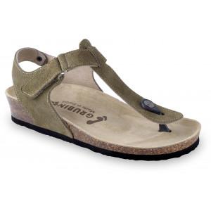 GRUBIN ženske sandale 2783680 DHAKA Maslinasto Zelena