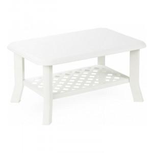 Baštenski sto plastični 90 x 60 x 46CM – beli NISO 030761