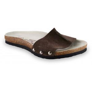 GRUBIN ženske papuče 2923610 ASMUND Braon