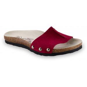 GRUBIN ženske papuče 2923610 ASMUND Bordo