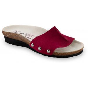 GRUBIN ženske papuče 2923650 ASMUND Bordo