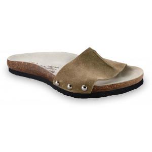GRUBIN ženske papuče 2923610 ASMUND Drap