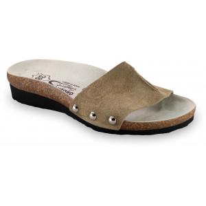 GRUBIN ženske papuče 2923650 ASMUND Drap