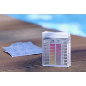 Tester za vodu u bazenu Pooltester trokomorni Cl/pH 6070723