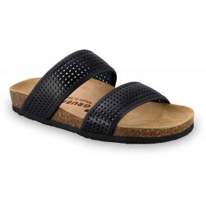 GRUBIN ženske papuče 2933650 MARTA Crne