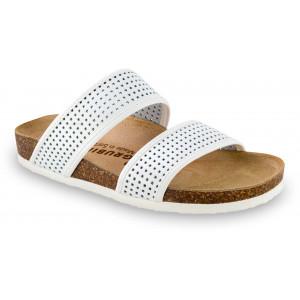 GRUBIN ženske papuče 2933650 MARTA Bele