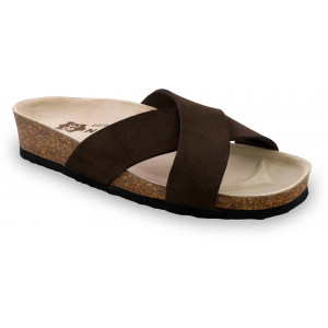 GRUBIN ženske papuče 2943610 QUITO Crna