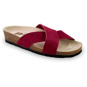 GRUBIN ženske papuče 2943610 QUITO Bordo
