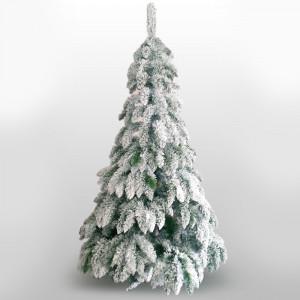 Kraljevska novogodišnja snežna jela 220cm 21452