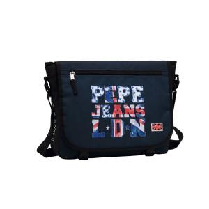 PEPE JEANS letters logo torba na rame za laptop 60.650.51