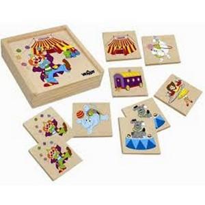 WOODY Memorijska igra - cirkus 93049
