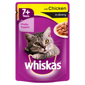 WHISKAS kesica, Senior piletina 100g 520258