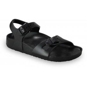 GRUBIN dečije sandale 3102400 RIO LIGHT Crne