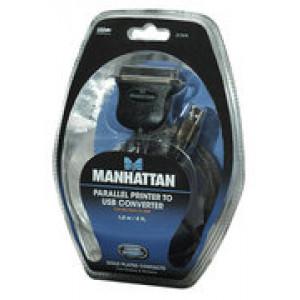 MANHATTAN Konverter kabl USB u Parallel CEN36, muški 317474