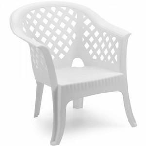 Baštenska bela fotelja LARIO 037985