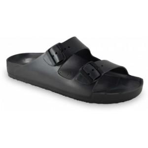 GRUBIN muške papuče 3234300 KAIRO LIGHT Crne 43