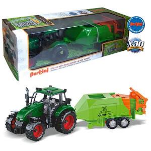 PERTINI traktor sa mašinom za baliranje sena 15580