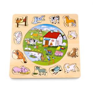 PINO Slagalica - umetaljka Farma 4050-1