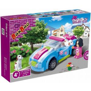 BANBAO Trendy City kocke auto kabriolet 6119