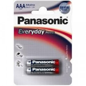 PANASONIC baterije LR6EPS/2BP - AA 2kom alkalne Everyday