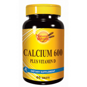 Natural Wealth Kalcijum 600 + vitamin D