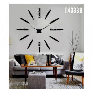 3D Samolepljivi zidni sat T4333B