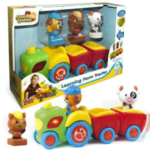 LITTLE LEARNER traktor na farmi 16421
