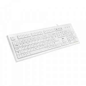 MS tastatura KB-ALPHA USB white